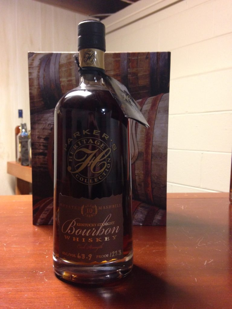Parker's Heritage 4th Ed. (Wheated Bourbon 10 Year)