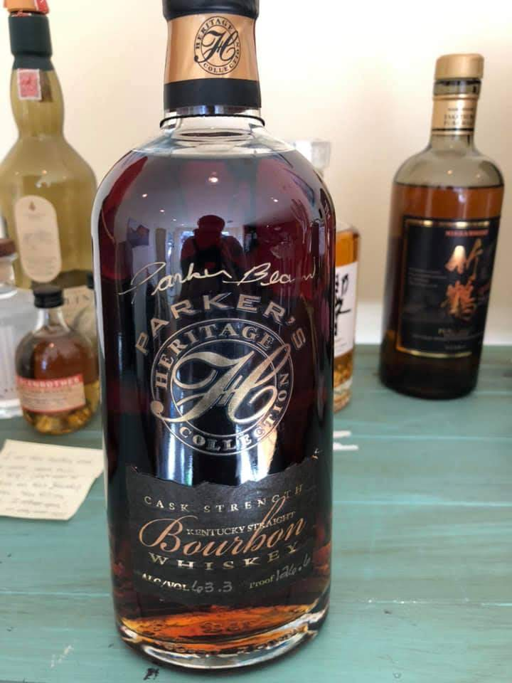 Parker's Heritage 1st Ed. (Cask Strength) Extremely Rare Proof (126.6)<br />Photo courtesy of Sergio Ceja