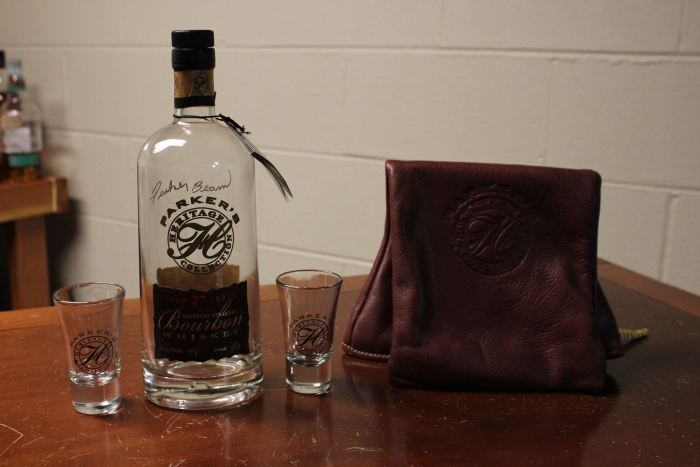 Parker's Heritage 2nd Edition Bottle Signed By Parker Beam + Collectible Bag
