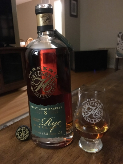 Parker's Heritage 13th Ed. (Heavy Char Rye Whiskey)